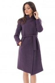 Palton Roh Boutique stilat cu captuseala satinata, ROH - JR494 mov