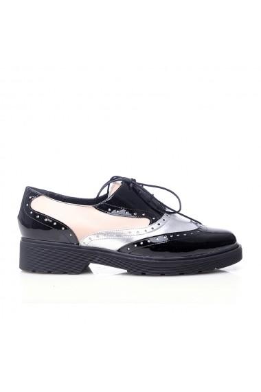 Pantofi pentru femei VERONESSE multicolori cu siret, din piele naturala