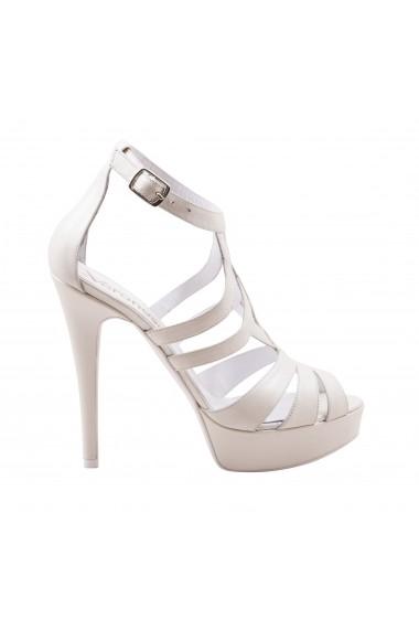 Sandale pentru femei marca VERONESSE ivory din piele