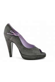 Pantofi pentru femei marca Studio Pollini gri din piele