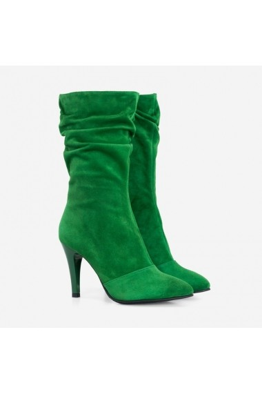 Cizme dama din piele naturala verde Cayenne   Dianemarie C111 vd