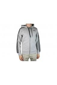 Jacheta pentru barbati Adidas Essentials 3 Stripes Fullzip Fleece DU0476