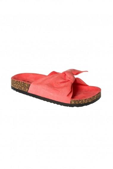 Papuci Rammi coral cu funda detasabila