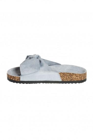 papuci Rammi gri cu funda detasabila