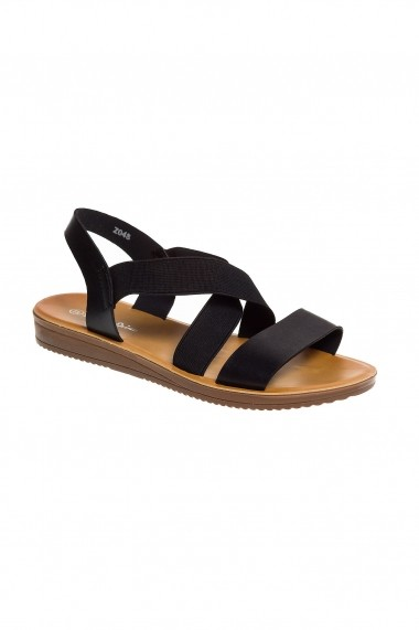 sandale Rammi negre slingback,cod z048