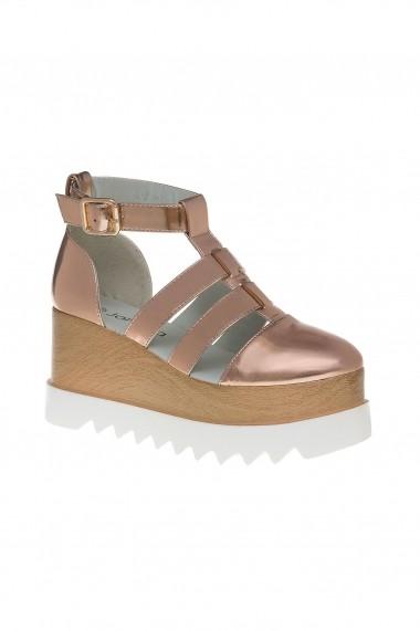 sandale Rammi auriu sampanie