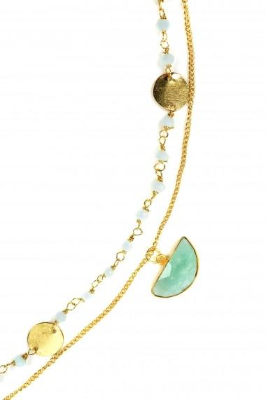 Colier Borro Design Mint Chic Chocker BRJWP0048 verde