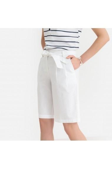 Pantaloni scurti ANNE WEYBURN GGB642 alb - els