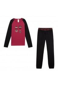 Pijama DIM GGV879 negru