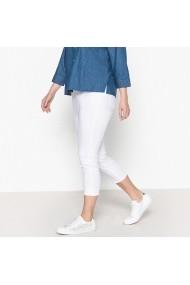 Pantaloni CASTALUNA GFW071 alb