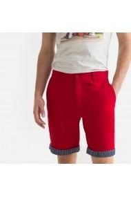 Pantaloni scurti La Redoute Collections GFU585 rosu
