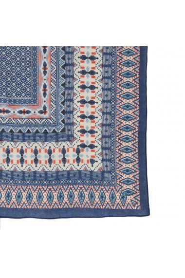 Esarfa La Redoute Collections GFZ348 albastru