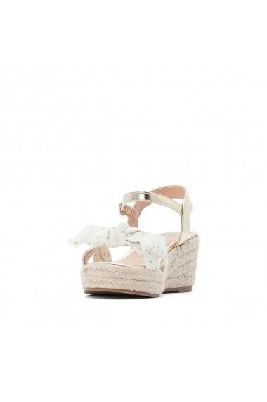 Sandale La Redoute Collections GFV075 auriu