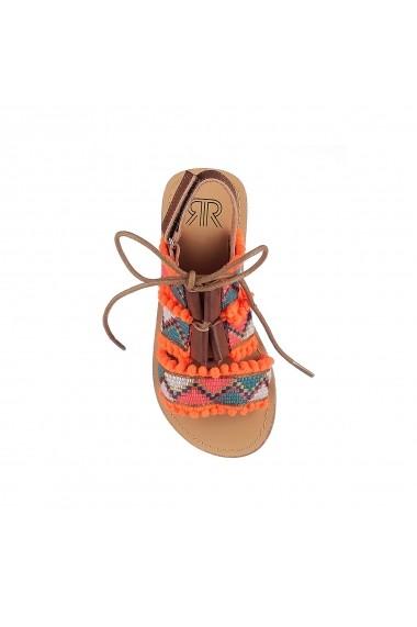 Sandale La Redoute Collections GFY030 portocaliu