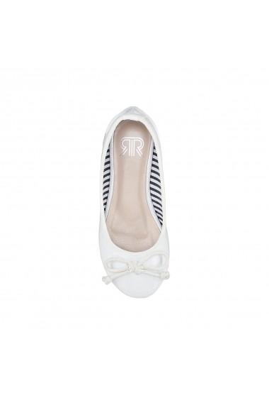 Pantofi La Redoute Collections GFM723 alb
