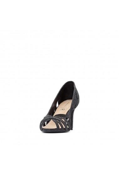 Pantofi cu toc La Redoute Collections GGA834 negru
