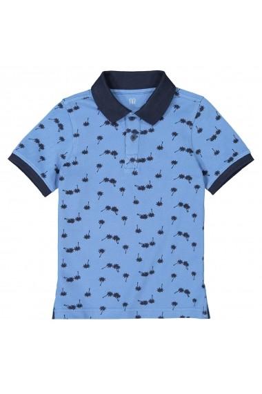 Tricou Polo La Redoute Collections GFY268 albastru