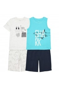 Pijama La Redoute Collections GFM580 albastru