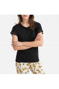 Tricou de pijama La Redoute Collections GFO664 negru