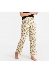 Pantaloni de pijama La Redoute Collections GFO671 bej