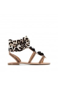 Sandale La Redoute Collections GFZ162 animal print