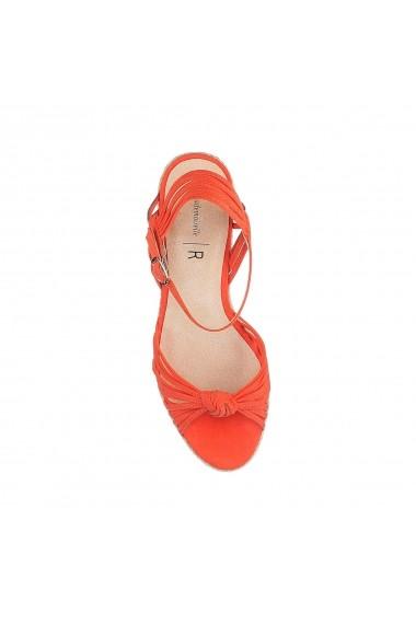 Sandale cu platforma La Redoute Collections GFN879 Corai