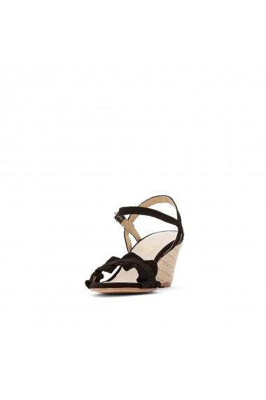 Sandale La Redoute Collections GFV039 negru