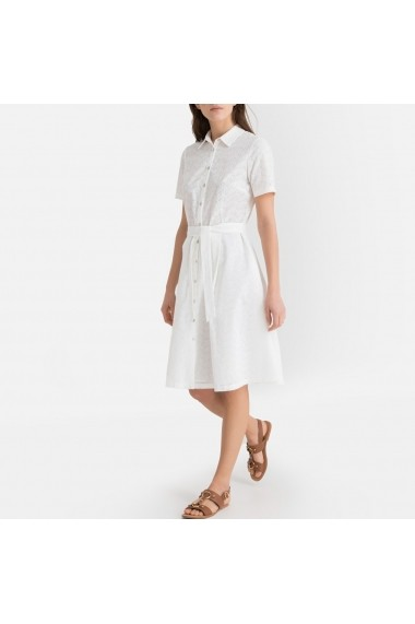 Rochie La Redoute Collections GGF987 alb