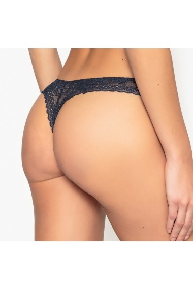 Slip tanga La Redoute Collections GAZ335-navy_blue Bleumarin