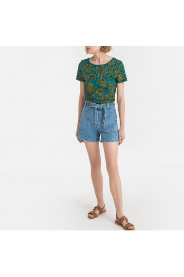 Tricou La Redoute Collections GGG227 verde - els
