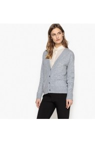 Жилетка La Redoute Collections LRD-GDH147-grey_marl Сив