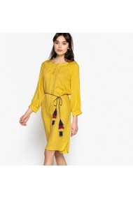 Рокля La Redoute Collections LRD-GER867-yellow Жълт