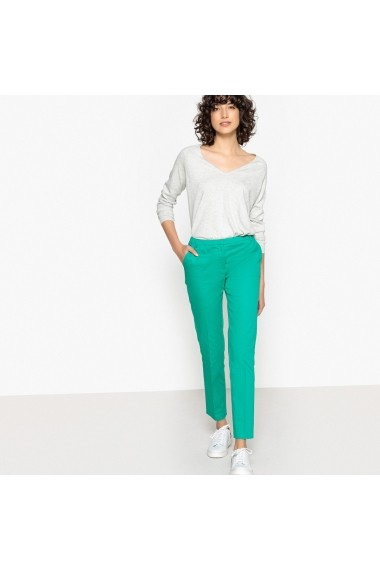 Pantaloni skinny La Redoute Collections GDJ194-green Verde - els