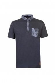 Tricou Polo Pierre Cardin MAS-54252422 Gri - els
