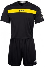 Set tricou si pantaloni scurti de fotbal JOMA KIT1.981.06 Negru