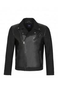 Jacheta din piele Paul Parker PA429936 Negru