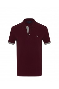 Tricou Polo Paul Parker PA354371 Bordo