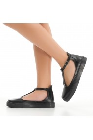 Pantofi DELISIYIM Dat Negru