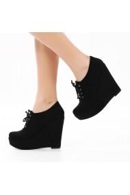 Pantofi cu platforma DELISIYIM Linkon Negru