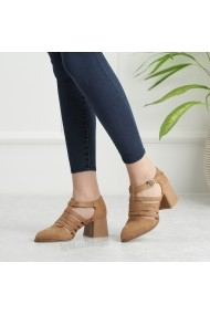 Pantofi cu toc DELISIYIM Garila Bej