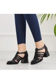 Pantofi cu toc DELISIYIM Garila Negru