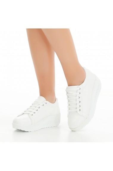 Pantofi sport casual DELISIYIM Varnamo Alb
