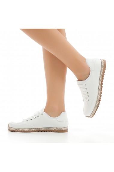 Pantofi sport casual DELISIYIM Arbit Alb