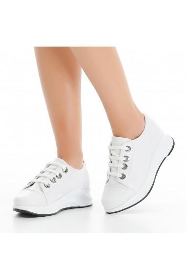 Pantofi sport casual DELISIYIM Agov Alb