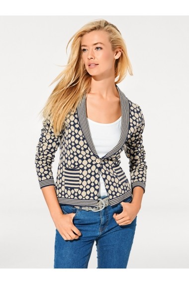 Cardigan Best Connections 077757 albastru