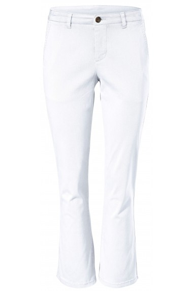 Pantaloni drepti Best Connections 003540 alb - els