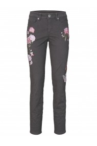 Pantaloni drepti heine CASUAL 91341529 gri