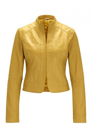 Jacheta din piele heine Timeless 41056244 galbena