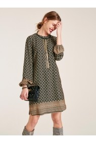 Ежедневна рокля heine STYLE HNE-58968829 кафяво
