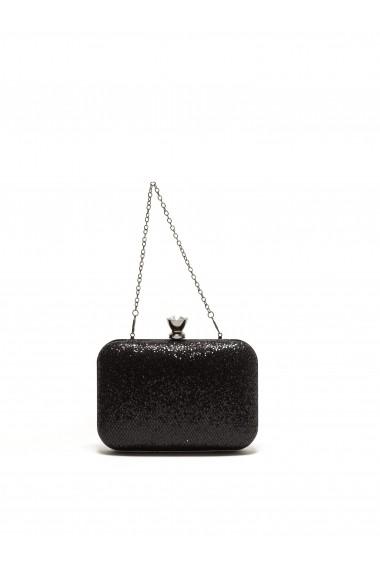 Clutch Luisa Vannini SS17 P04 negru